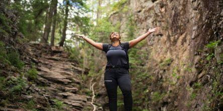Ni av ti blir mindre stresset av en tur i naturen